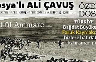 KUT'ÜL AMARE VE TOSYA'LI ALİ ÇAVUŞ