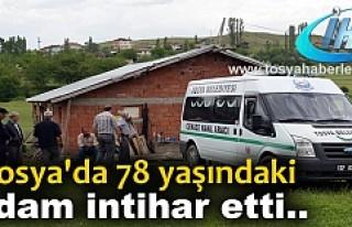 TOSYA'DA 78 YAŞINDAKİ YAŞLI ADAM KENDİNİ ASTI