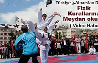 TÜRKİYE 3. ALPARSLAN DALSIZ FİZİK KURALLARINA...