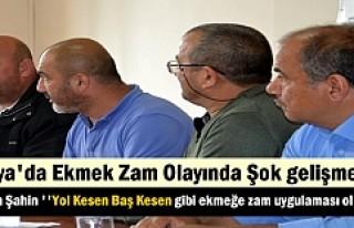 BAŞKAN KAZIM ŞAHİN FIRINCILARI ETİK DAVRANMADIKLARI...