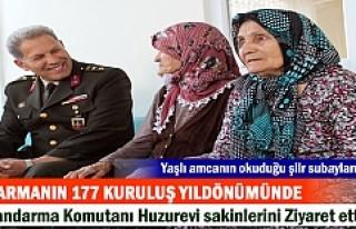 JANDARMANIN 177 KURULUŞ YILDÖNÜMÜNDE KOMUTANLAR...