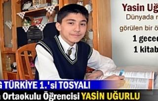 TEOG TÜRKİYE 1. FATİH ORTAOKULU ÖĞRENCİSİ YASİN...