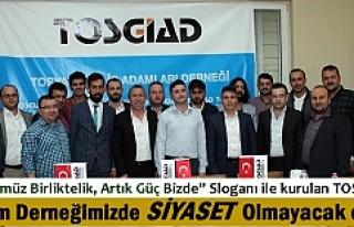 Tosya Genç İşadamları Derneği TOSGİAD ilk toplantısını...