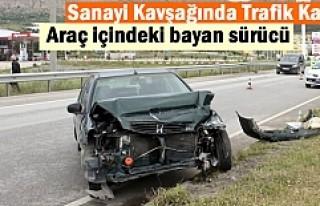 Tosya Yeni Sanayi Kavşağında Trafik Kazasında...