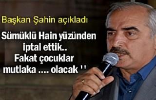 Başkan Kazım Şahin ''Sümüklü Hain...