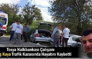 MEMİŞ KAYA TRAFİK KAZASINDA HAYATINI KAYBETTİ