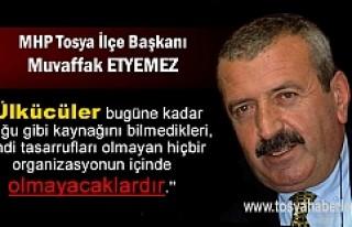 MHP Tosya İlçe Başkanlığı Basın Bildirisi