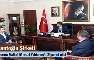Nalbantoğlu Şirketi Kastamonu Valisi Mesut Yıldırım'ı...