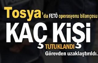 Tosya'da FETÖ Soruşturmasında 24 Kişi Görevden...