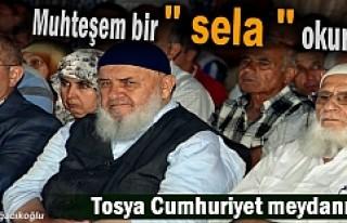 Tosya '' Demokrasi Nöbetinde''...