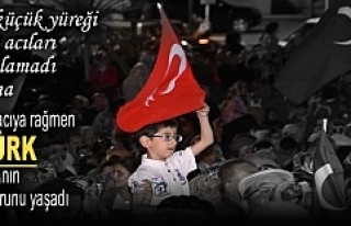 Tosya ''Demokrasi Nöbetine''...