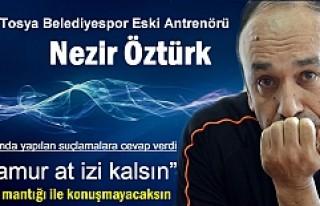 Tosya Belediyespor Eski Antrenöründen Suçlamalara...