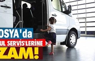 Tosya'da Okul Servislerine Zam Yapılacakmı