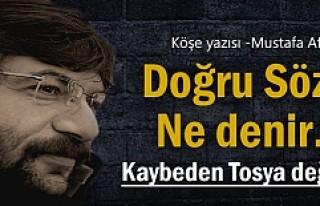Kaybeden Tosya değil, Kastamonu Merkez