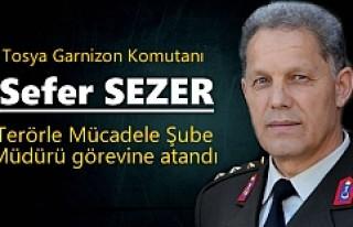 Tosya Garnizon Komutanı Terörle Mücadele Müdürü...