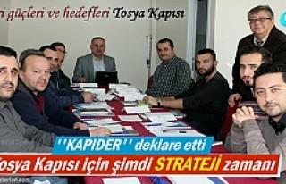 Tosya ''Kapıder'' Derneği Stratejik...