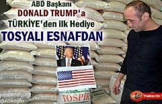 Yeni ABD başkanına Türkiye'den ilk hediye...