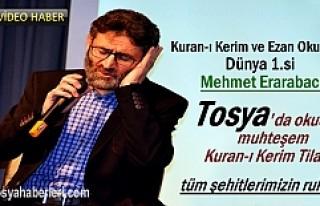 Dünya ve Türkiye 1.'nin Tosya'da okuduğu...