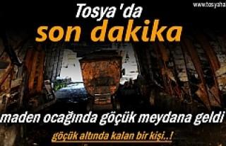 Tosya'da Maden Ocağında Göçük meydana geldi
