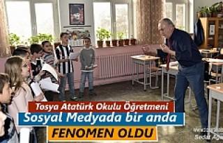 Tosya Atatürk İlkokulunda Sıradışı bir Öğretmen