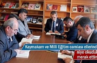 Tosya Kaymakamı ve Milli Eğitim Camiası 20 dakika...