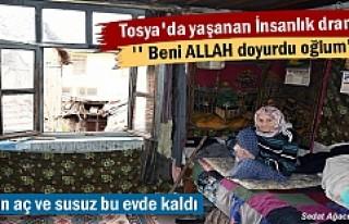 Tosya'da 4 gündür aç ve susuz kalan Yaşlı...