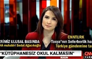 Tosya'nın Seferberlik Haberi CNNTURK ana haber...