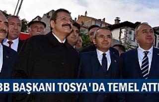 TOBB Başkanı Rifat Hisarcıklıoğlu Tosya'da...