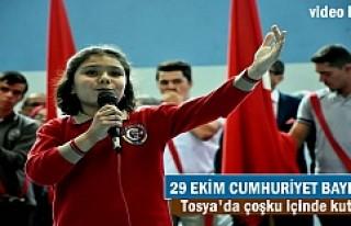 Tosya ilçesinde Cumhuriyet Bayramının 94.yılı...