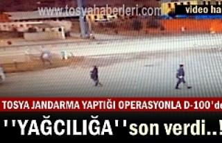 Tosya Jandarma 250 Bin TL değerinde Yağ Dolandırıcılarını...