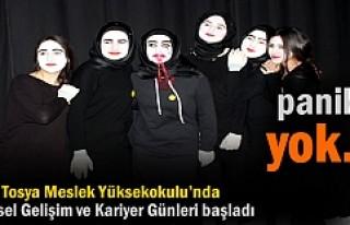 Tosya Meslek Yüksekokulu'nda 1. Kişisel Gelişim...