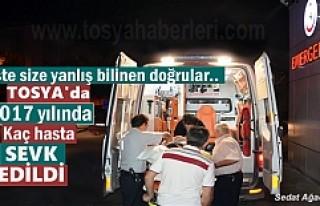 TOSYA DEVLET HASTANESİNDE 2017 YILINDA KAÇ HASTA...