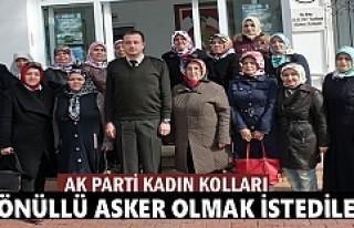 AK PARTİ TOSYA KADIN KOLLARI AFRİN İÇİN GÖNÜLLÜ...