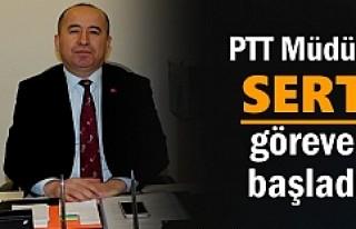 TOSYA PTT MÜDÜRÜ GÖREVE BAŞLADI