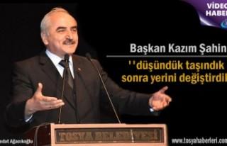 Başkan Kazım Şahin'Saat Kulesi konusuna açıklama...