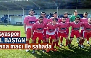 Tosya Spor Kastamonu 2.Amatör Lig maçında Abana...