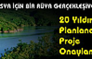 20 yıllık Proje Start Aldı