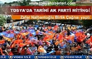 AK PARTİ'DEN TOSYA'DA TARİHİ MİTİNG