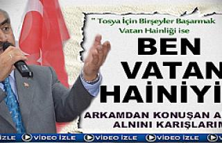 AK Parti Tosya İlçe Başkanlığı İstişare Toplantısı...