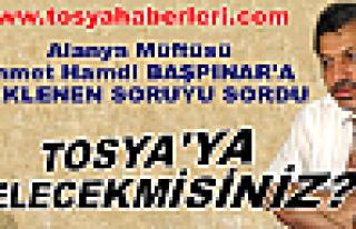 Alanya Müftüsü Tosya'ya Gelecekmi ?