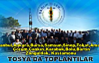 Bölge Toplantısını Tosya'da Yaptılar