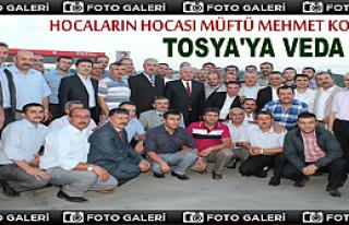 Hocaların Hocası Müftü Mehmet Korkmaz'a Veda...