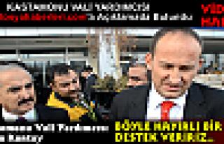 Kastamonu Vali Yardımcısından Tosya'ya DESTEK SÖZÜ