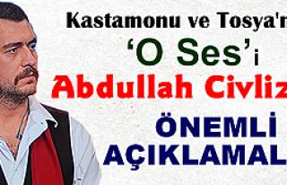 Kastamonu ve Tosya'nın 'O Ses'i: Abdullah Civliz...