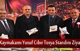 Kaymakam Yusuf Cıbır Ankara Günlerinde Tosya Standını...