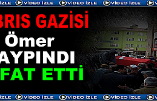 KIBRIS GAZİSİ ALBAY SON YOLCULUĞUNA UĞURLANDI