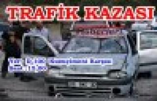 KUZUÇİMENİ-TRAFİK KAZASI