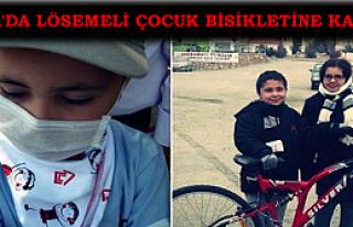 Lösemili Çocuk, bisikletine kavuştu