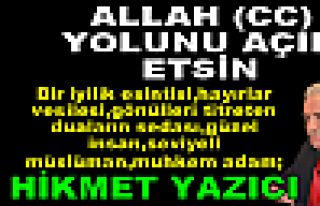 MÜFTÜ HİKMET YAZICI' TOSYA'YA VEDA ETTİ..