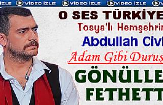 ''O SES TÜRKİYE'' Programına Abdullah Civliz Damga...